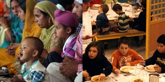 写真=映画『聖者たちの食卓』(左)/映画『未来の食卓』(右)より