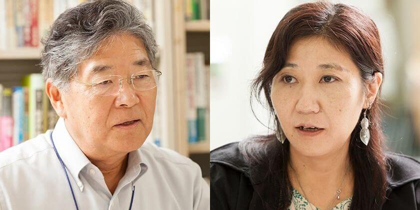 山浦康明さん(左)、内田聖子さん(右)(写真=疋田千里)