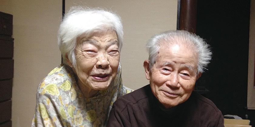 老老介護の二人